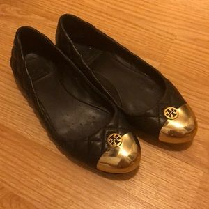 Tory Burch leather flats!